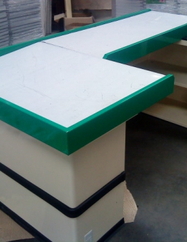 Check-out counter
